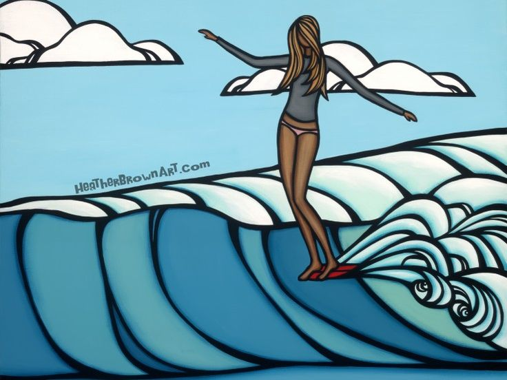 Heather Brown - Artist | @SurfCareers
