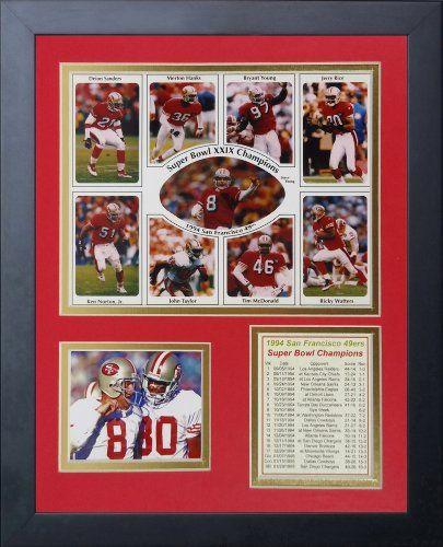 San Francisco 49ers Super Bowl Poster
