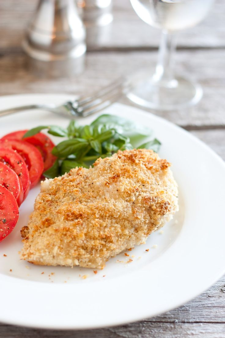 Cooking Classy: Crispy Pesto Parmesan Chicken ~ A recipe that's easy to double so you can make it for a crowd