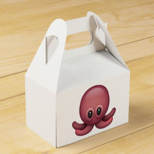 Octopus - Emoji Favor Box