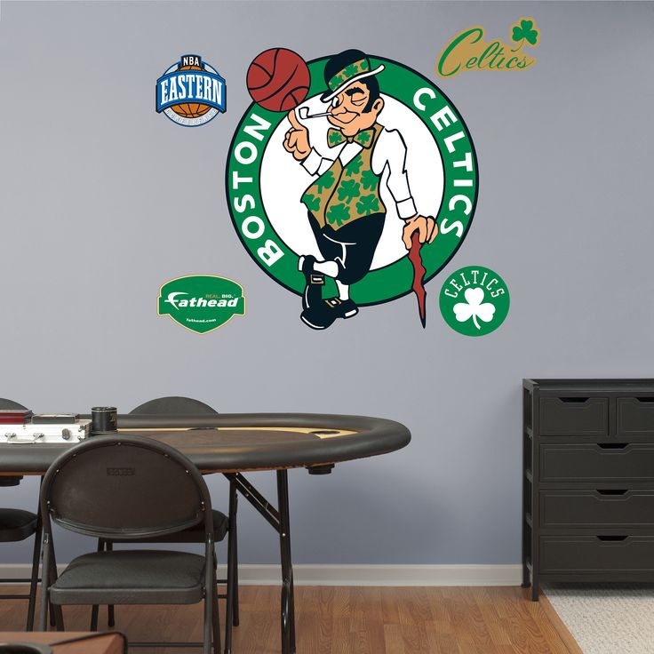 Fathead Boston Celtics Logo Wall Decals In Sports Mem, Cards U0026 Fan Shop,  Fan Apparel U0026 Souvenirs, Basketball NBA