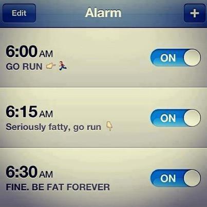 seriously fatty, go run.. Every morning