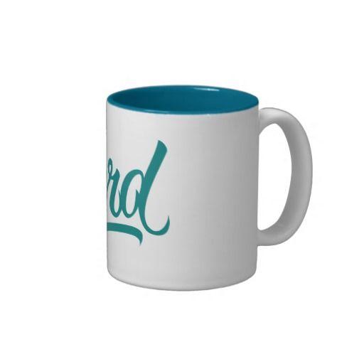 NERD COFFEE MUGS #Nerd #lettering #LetterHype