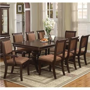 Find This Pin And More On Dining Room Sets Browse Cheap Affordable Crown Mark Merlot Set At Urban Furniture Outlet Shop For The