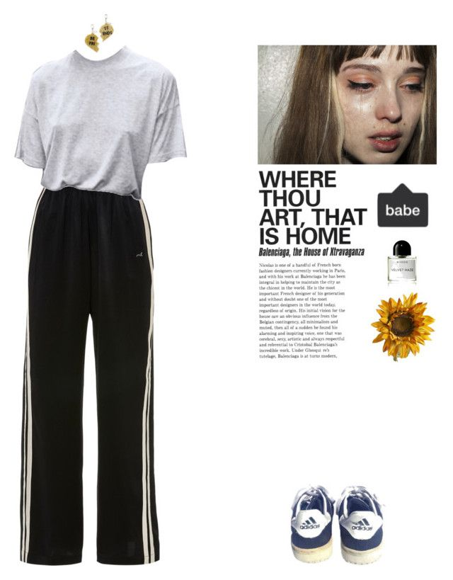 """(/)"" by vesleku on Polyvore featuring Edie Parker, Byredo, Morgan Lane, Yves Saint Laurent and Pier 1 Imports"