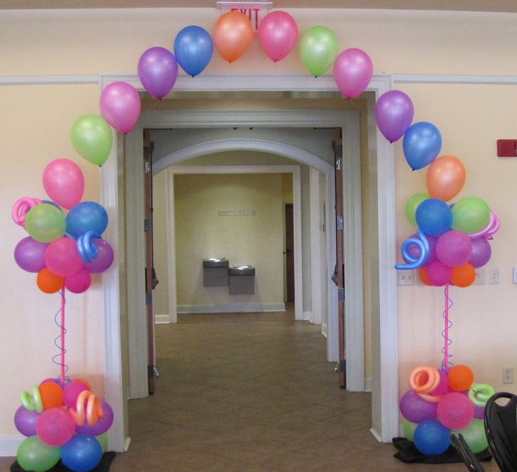 Birthday canopy party people celebration company for Balloon decoration companies