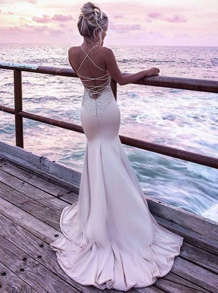Riemchen Prom Kleider, Meerjungfrau Prom Kleid, ausgestattet Prom Kleid, Prom Kleid w – ich wünsche …   – Wedding dresses