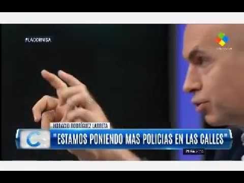 """Rodríguez Larreta rechazó la ley del 2x1 porque """"favorece a los delincue..."""
