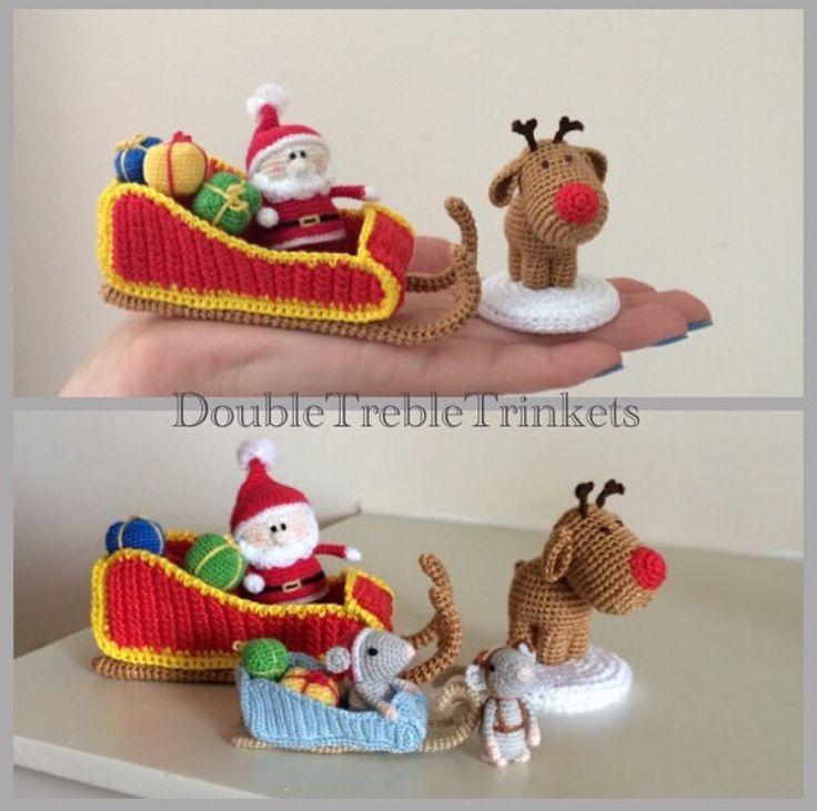 235 Best Christmas Crochet Images On Pinterest Holiday Crochet