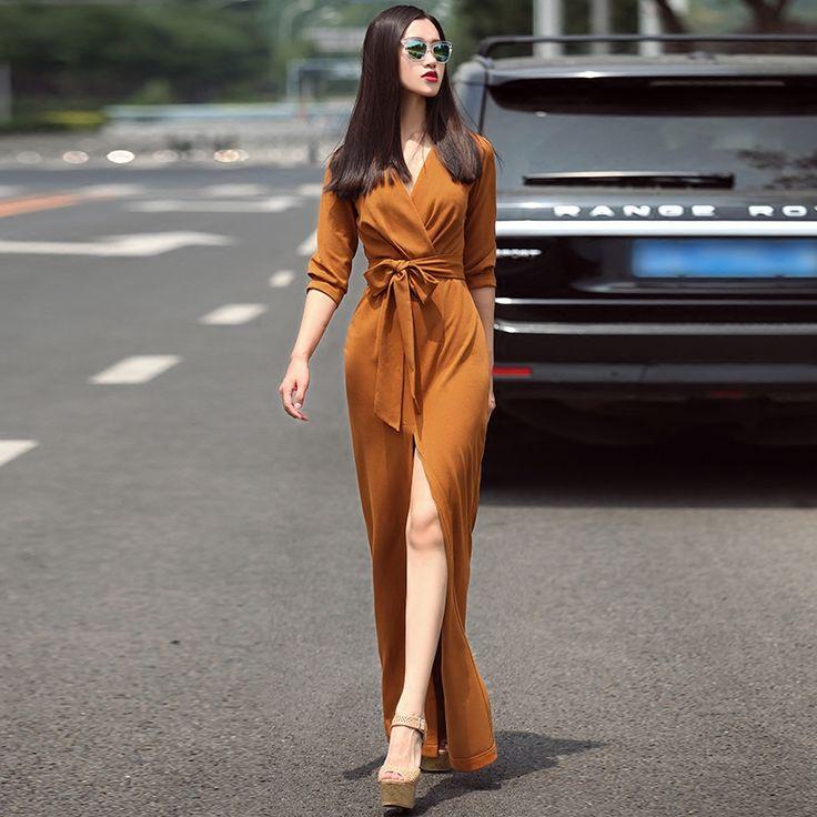 Aliexpress.com: Comprar 2017 de la moda de primavera vestidos de las mujeres sex…
