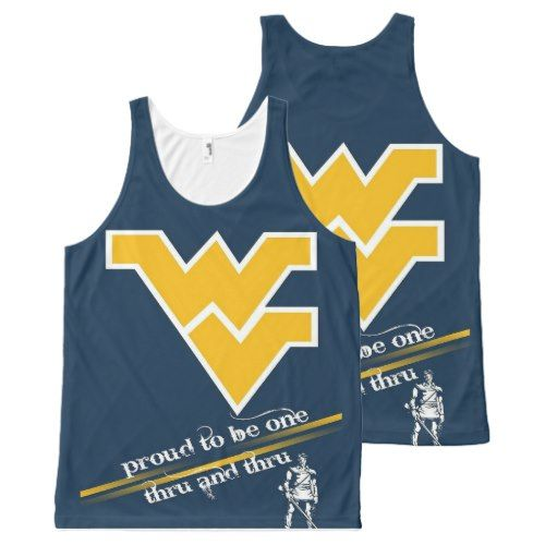 West Virginia Mountaineer All-Over-Print Tank Top