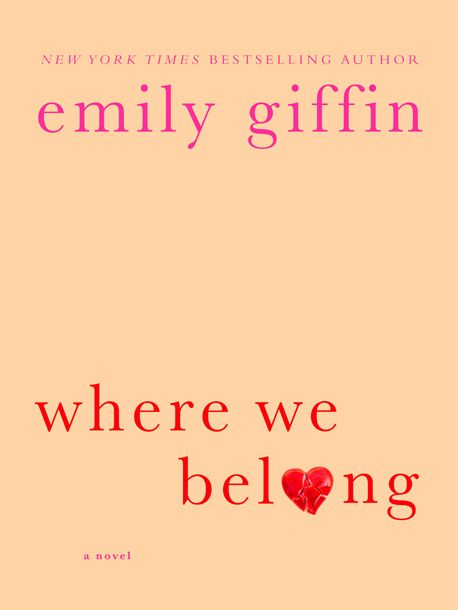 Summer Books 2012: Book Club, Worth Reading, Emily Giffin, Belong, Books Worth, Reading List