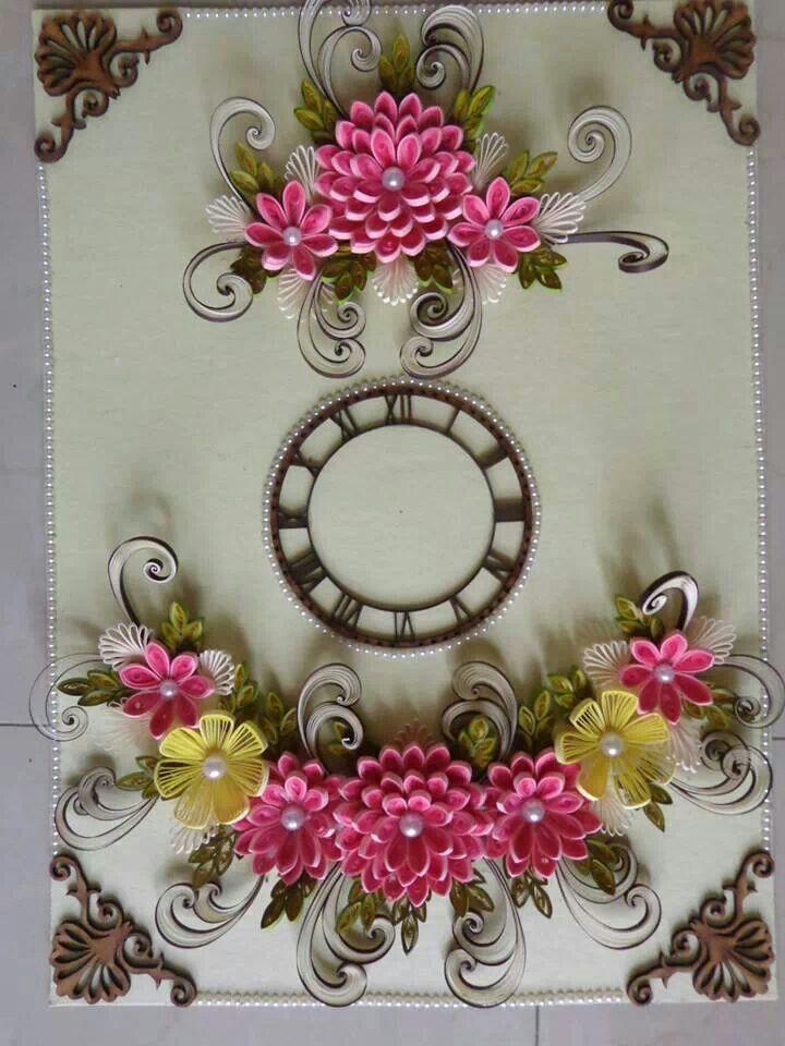 Clock by Zankhana Barai & her sis