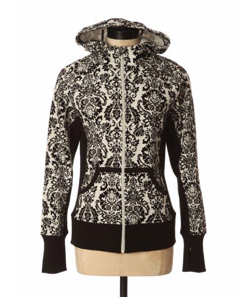bootlegger.com : kismet ella damask fleece hoody