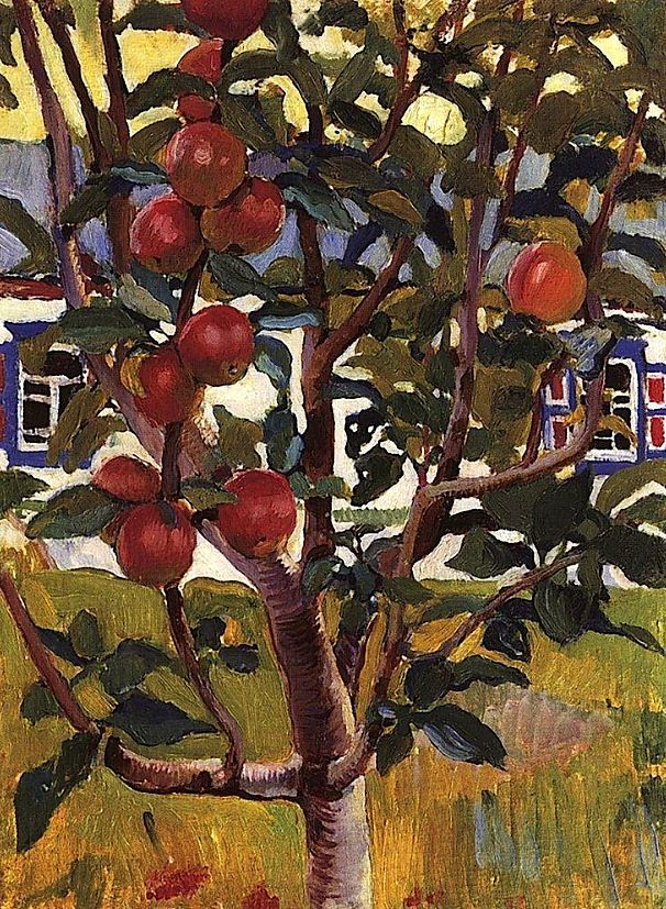 Apple tree Zinaida Serebriakova - circa 1900