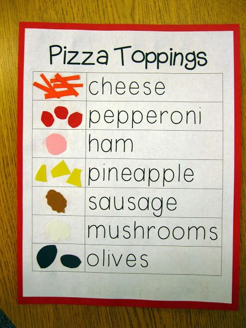 first grade pizza fractions