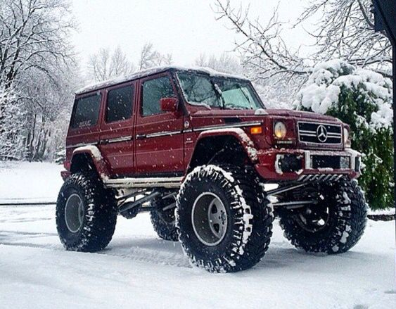 Mercedes G wagon...lifted!!