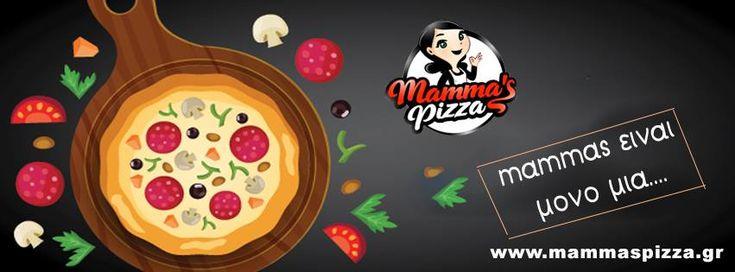 Χειροποίητη, πεντανόστιμη, απίθανη η αγαπημένη σου!!! Pizza Mammas είναι μόνο μία! www.mammaspizza.gr #serres #pizza #delivery #pasta #food #onlinedelivery #burgers #salad #pizzadelivery #hungry #foodie