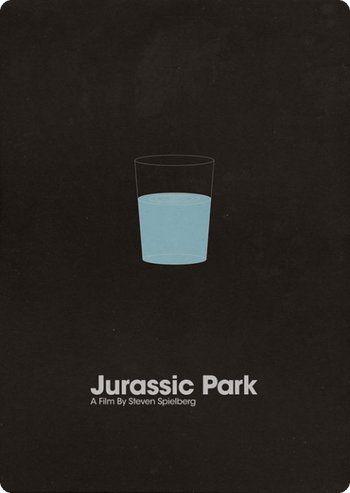 Top 80 des affiches minimalistes de films cultes