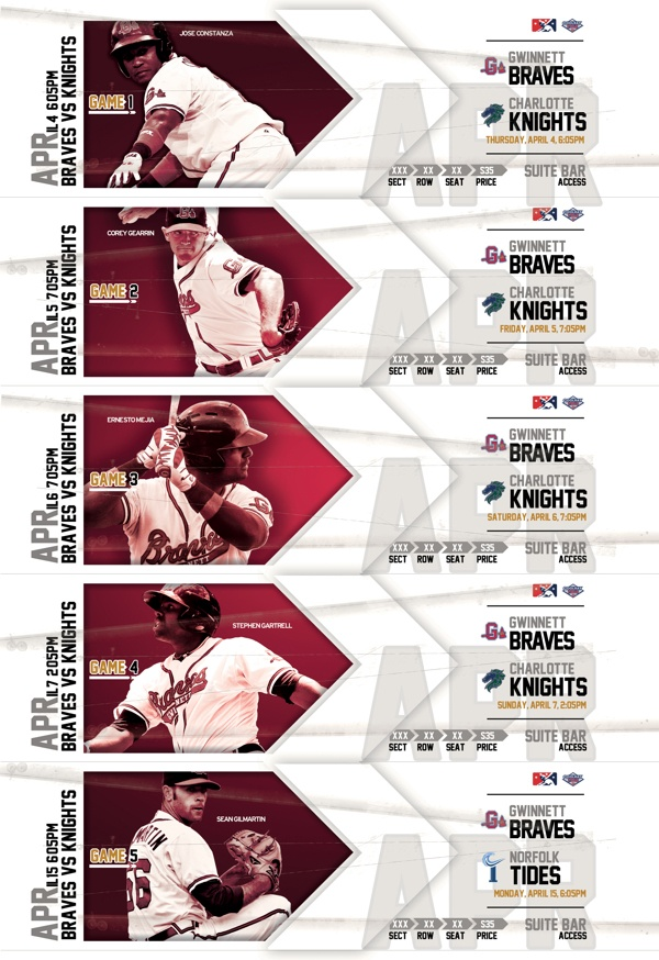 2013 Season Ticket Book Concept Design on Behance