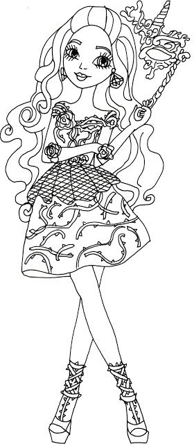 free ever after high coloring pages | 54 best images about Ever After High Coloring Pages on ...