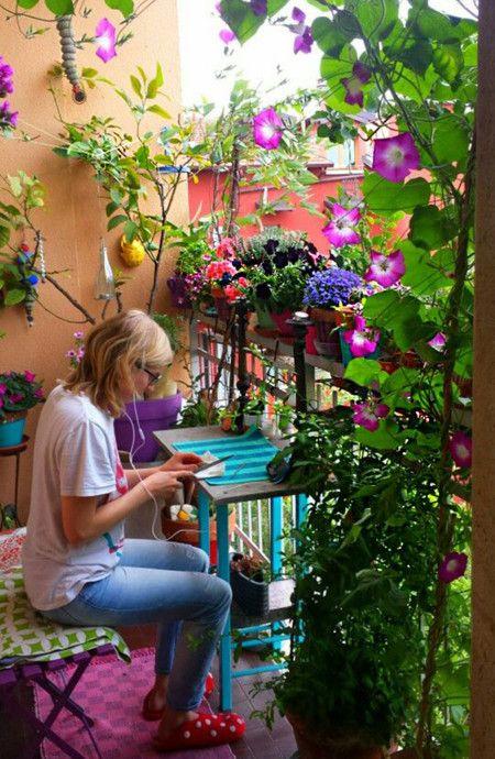 Más de 1000 imágenes sobre balcones pequeños en pinterest