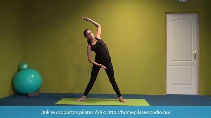 Pilates bemelegítés#1