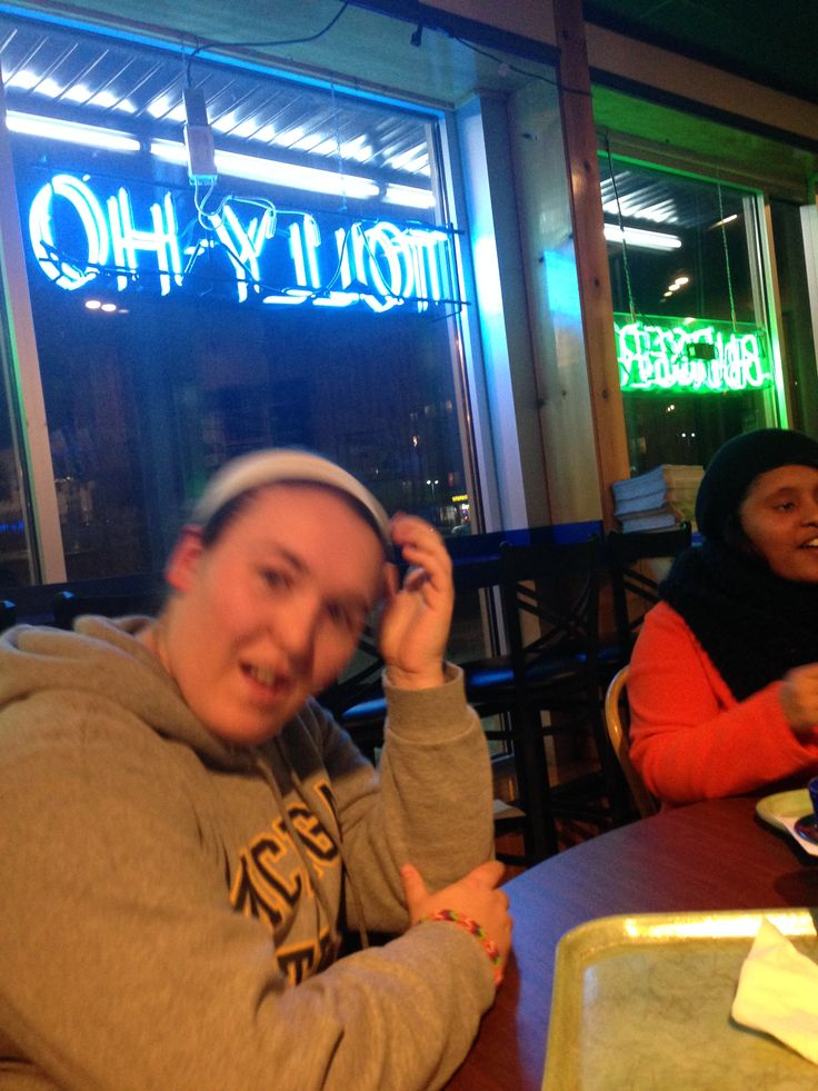 Nothing like a tolly ho milkshake at 10pm.............everyone thought it was necessary to take a picture of me