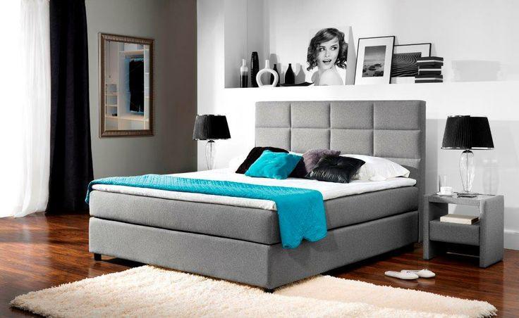 Łóżko kontynentalne, aranżacja firmy New Elegance/ Continental Bed form New Elegance
