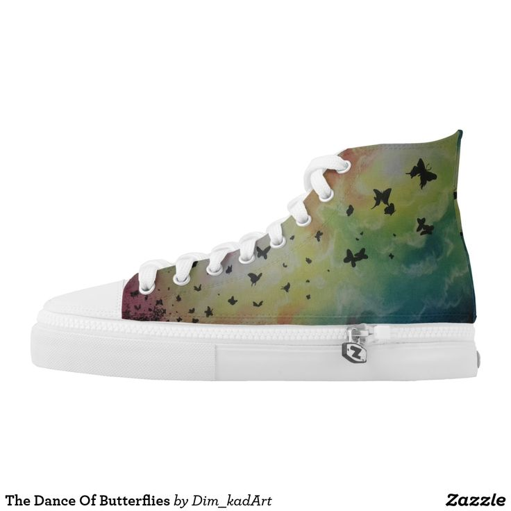 The Dance Of Butterflies #shoes #printedshoes #sneakers #fashion #ForAll #giftideas