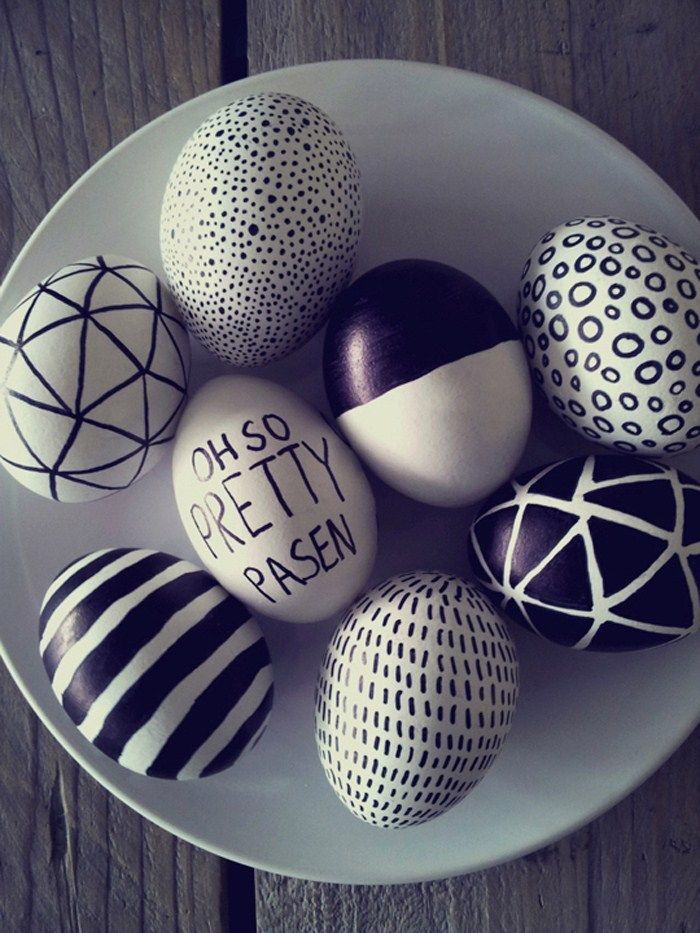 Paaseieren schilderen - Easter egg drawings by Make room for design #DIY