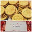 Chocolate Ganache Ritz Crackers