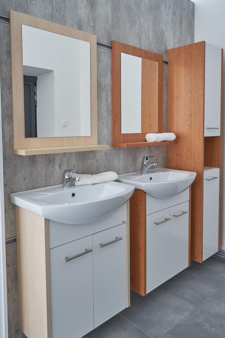 Koupelnový interiér, který si doma přeje každý - český nábytek do koupelny Dřevojas