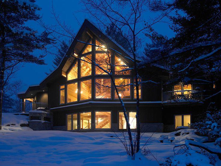Best 25 lindal cedar homes ideas on pinterest modern for Lindal log cabin homes