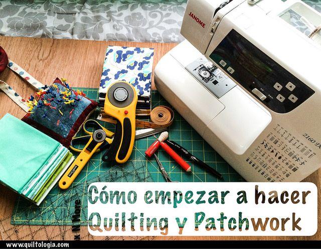 Cómo empezar a hacer Patchwork y Quilting en español | Quiltologia.com
