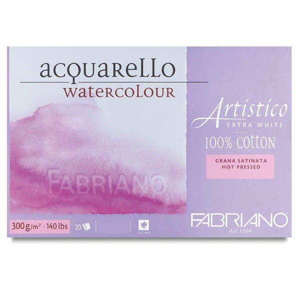 Μπλοκ Artistico EW 23X30cm 300gr HP-GS 20φυλλο Fabriano