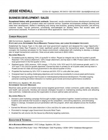 Resume Objective Examples For Government Jobs Examples of Resumes ...