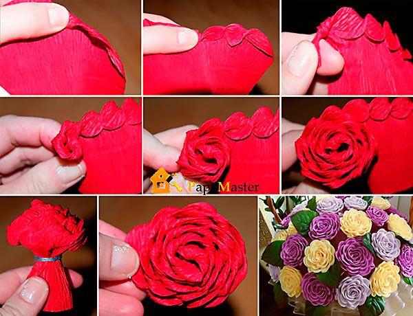 Цветы из бумаги своими руками может сделать даже новичок с поомщью представленных в статье подробных мастер-классов и схем.