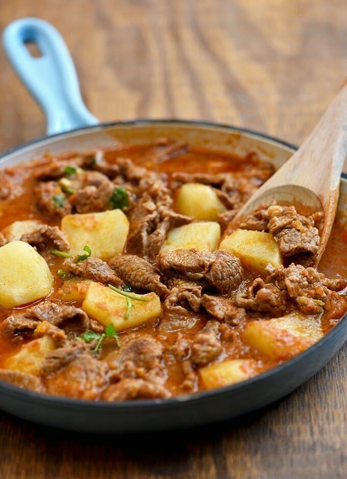 Carne Guisada Recipe Mexican Food Recipes Mexican Food Recipes Authentic Carne Guisada