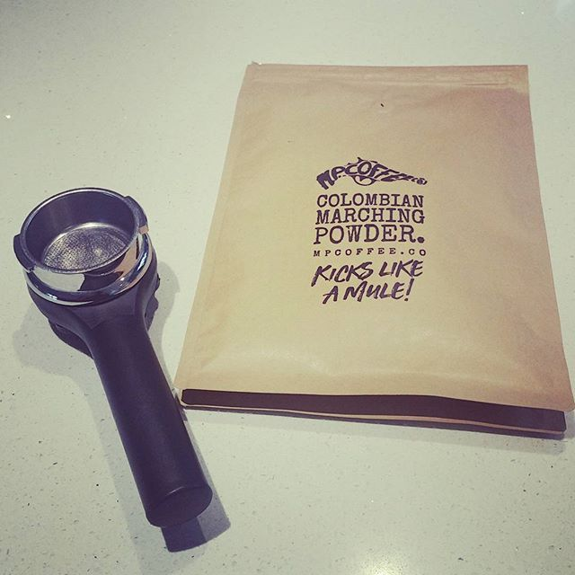 Need the extra kick? Enter our #comp to win 6 months free #coffee #espresso #aeropress #filtercoffee #australia #fresh #goldcoast #brisbane #doortodoor #crema #caffeine #friday #free #delivery #nodecaf #grinder #groundcoffee #arabica #roasters #ColumbianMarchingPowder #columbia #coffeeholic #coffeeculture #morning #coffeetime
