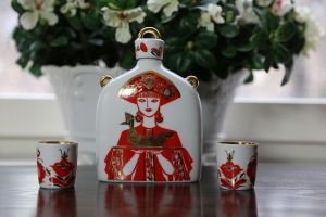 Ryska Lomonosov Karaff Red Beauty - La Reine Inredningar