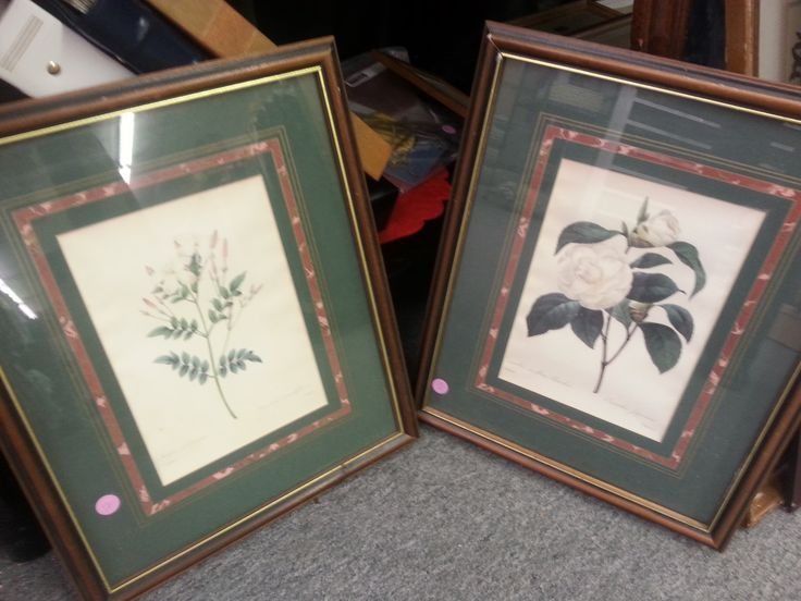 Available at the Winchester SPCA Thrift store. #art #prints #homedecor #flowers