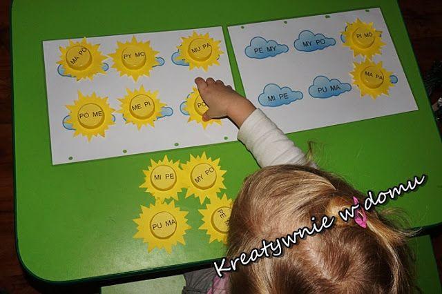 Przywołujemy wiosnę czyli nauka czytania przez zabawę | Kreatywnie w domu