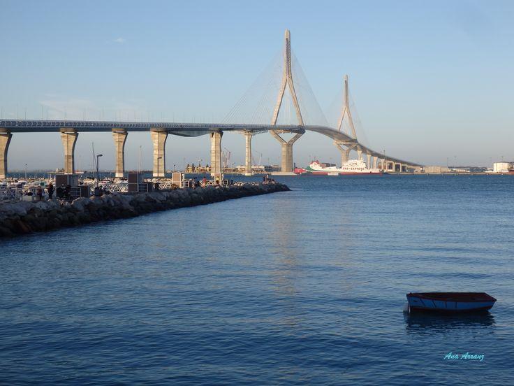 Puente de la Constitución de 1812. Cádiz.