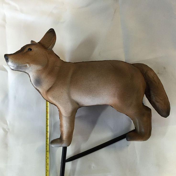 SR Archery - 3D Fox / Dog, Target Butt / 3D Target / Arrow Stop / Target