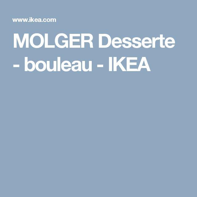 MOLGER Desserte - bouleau  - IKEA