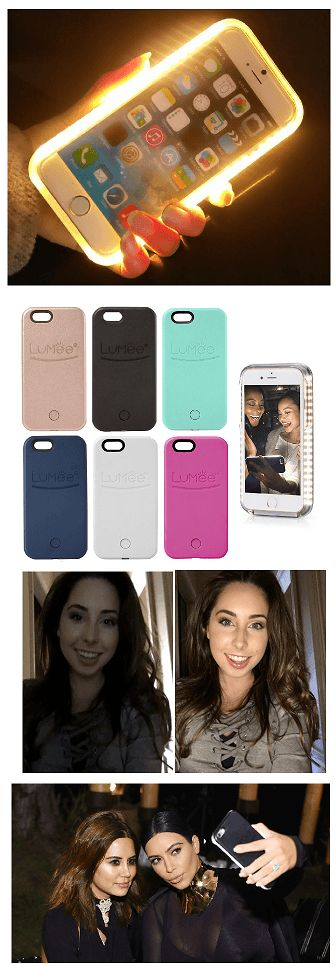 Family Deals Iphone Cases Lumee iPhone 5 / 6 / 7 / Plus with LED Lights built-in. Brighter & better Selfies
