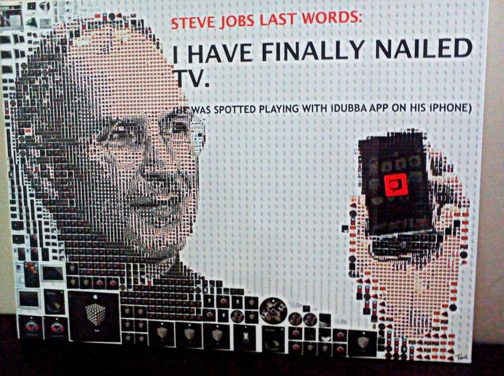 An asset added recently!!! Steve Jobs... Loving it