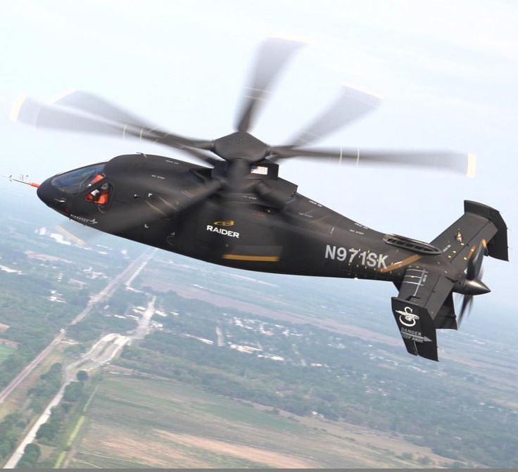 Sikorsky S-97 Raider (2015) is a proposed high-speed scout and attack helicopter
