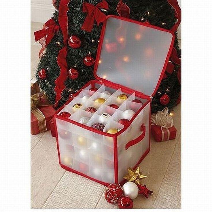 25+ Unique Christmas Ornament Storage Ideas On Pinterest